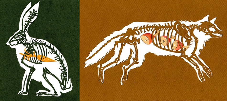 Paper Animal Insides by Wendy Wallin Malinow