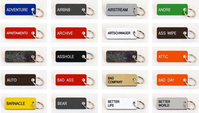 Various-key-tags