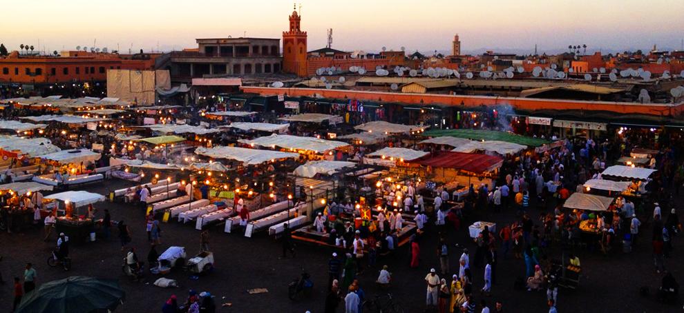 Marocco; Street Food, Tajine e Pastille stellate