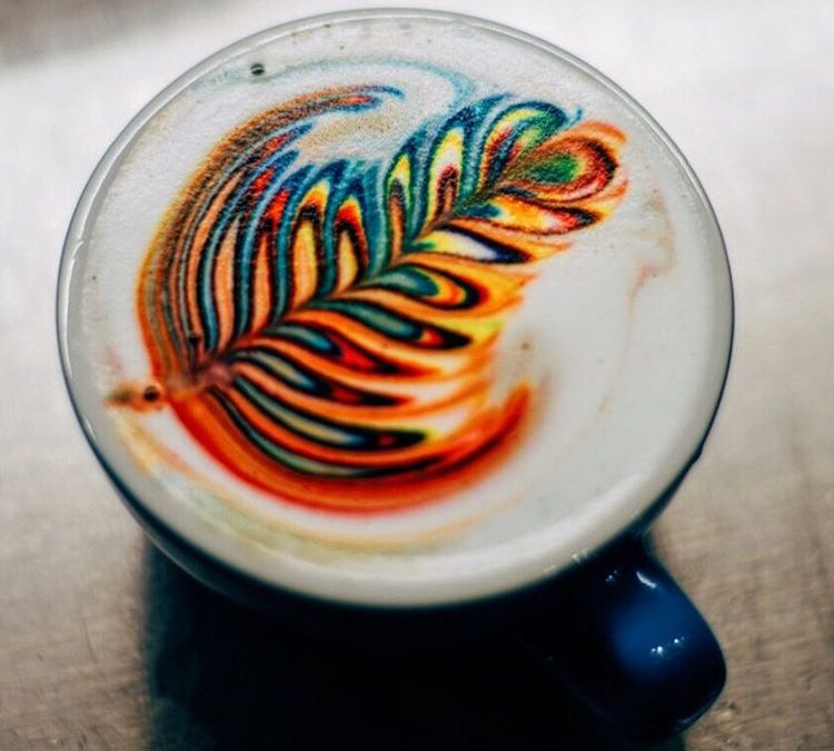 Rainbow Cappuccino